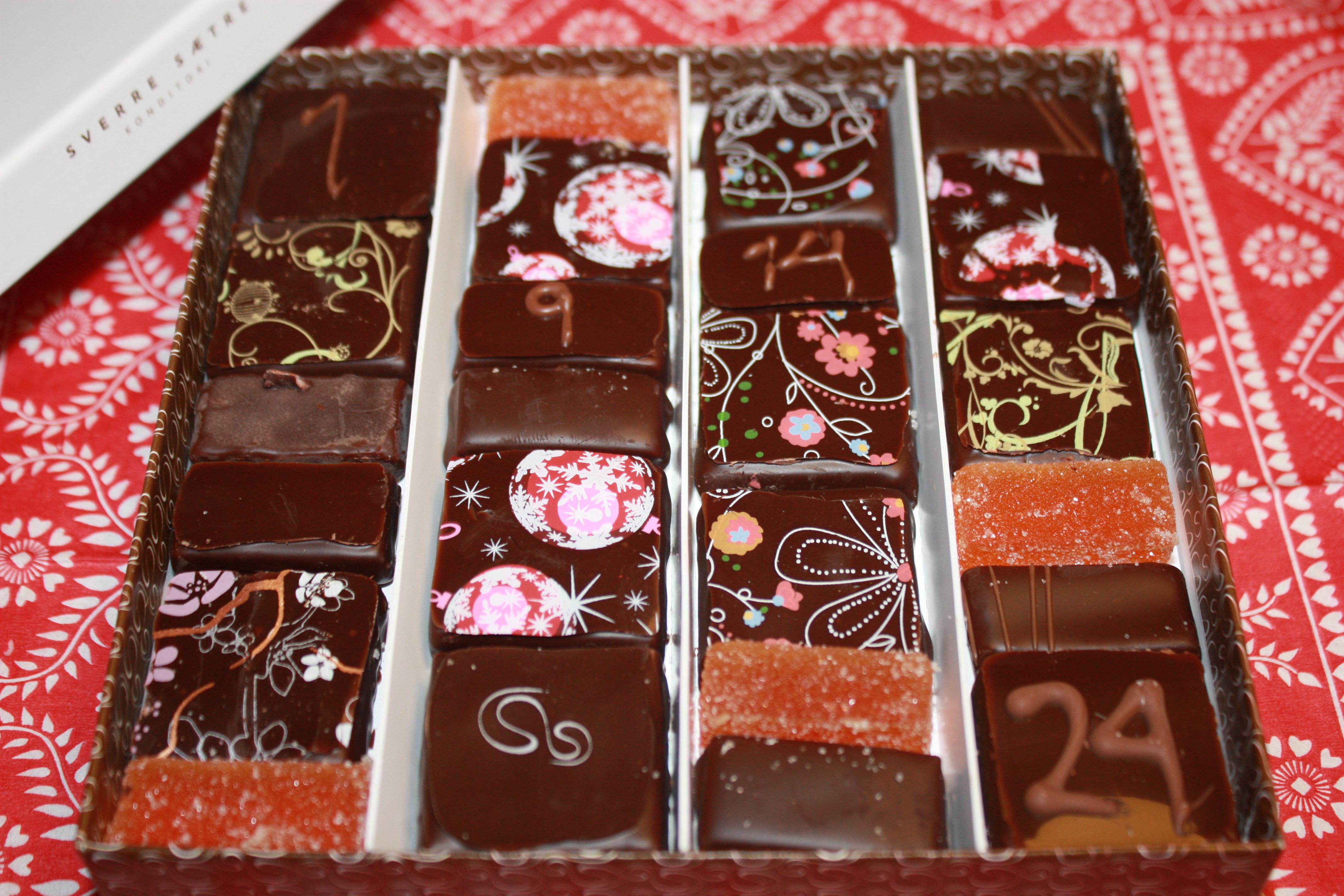 ...sjokoladekalender, of course. ;)