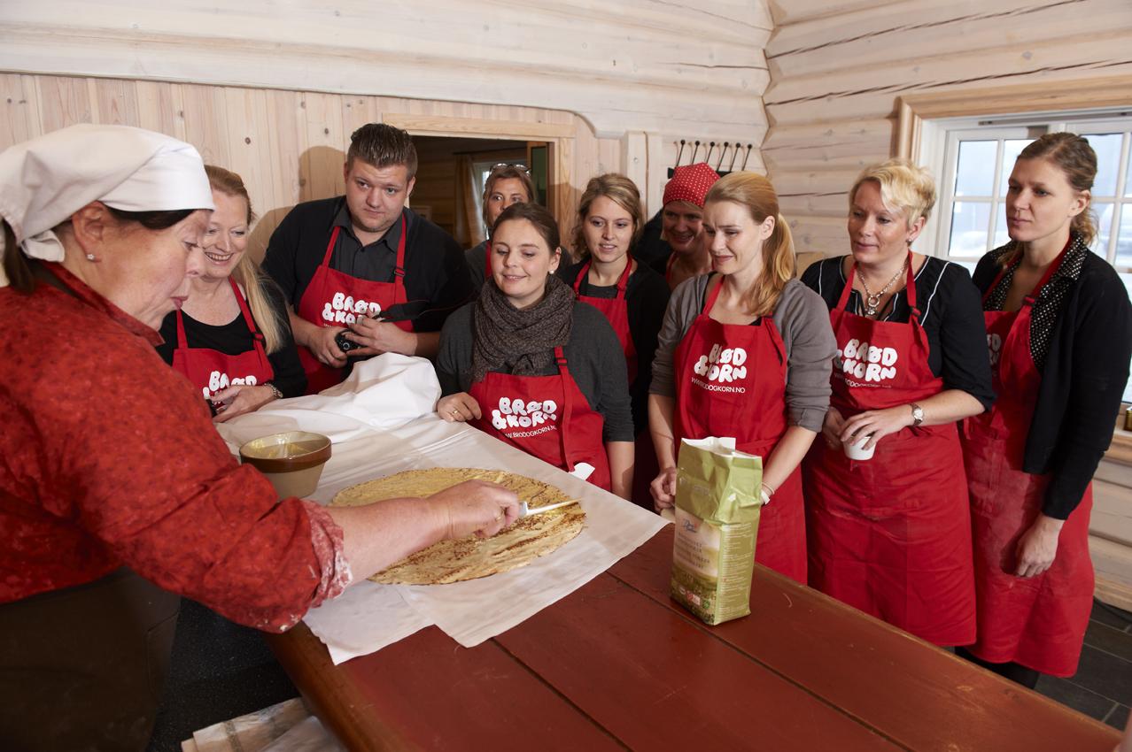 Sultne deltagere som gleder seg til kling! Foto: http://www.brodogkorn.no/ Esten Boros